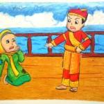 Gambar Cerita Rakyat Malin Kundang