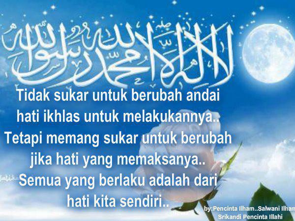 Contoh Gambar Kata Kata Mutiara Islami Kehidupan