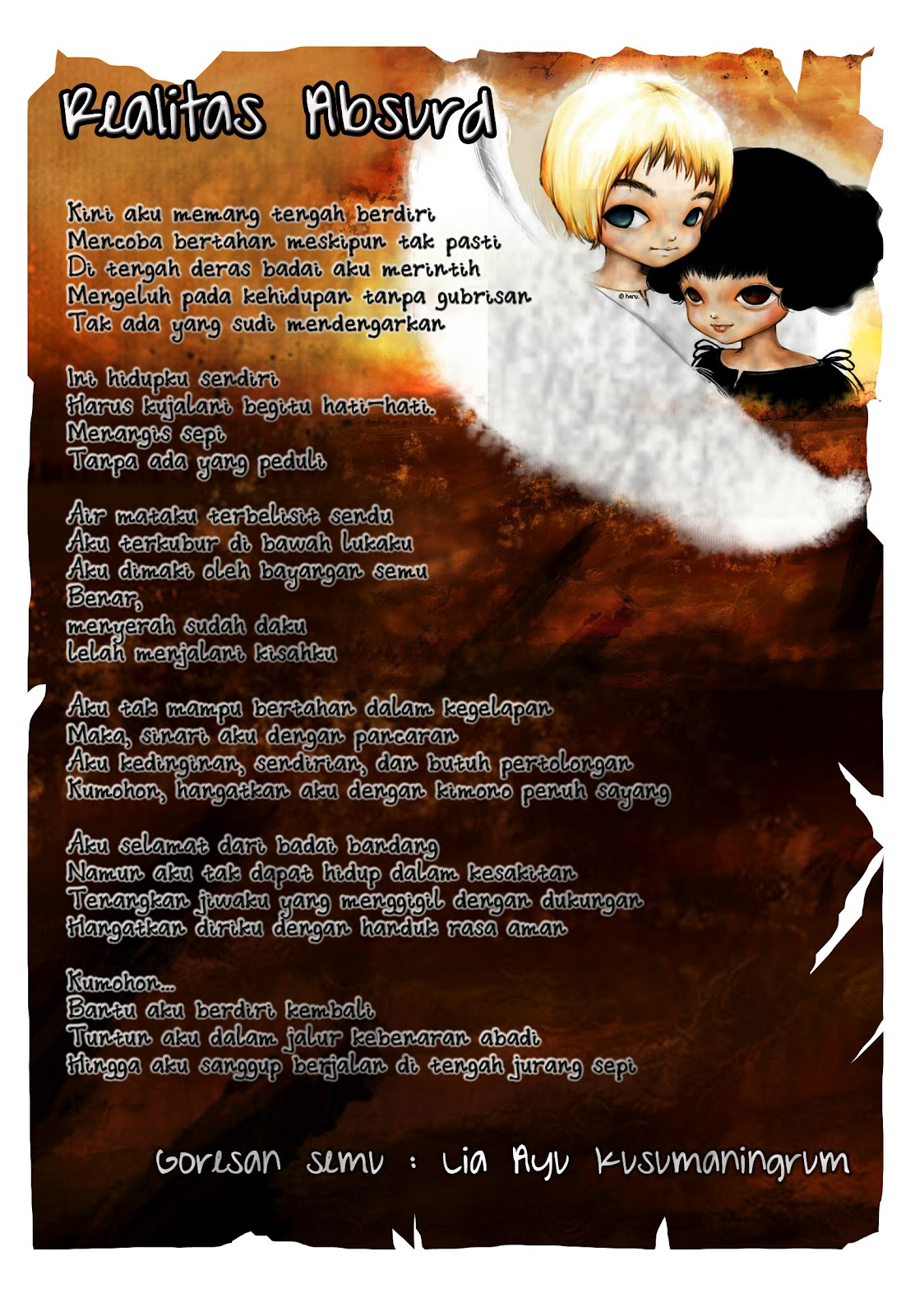 Puisi Bahasa Sastra Indonesia Jawa Pictures