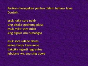 Contoh Puisi Bahasa Sastra Indonesia Jawa
