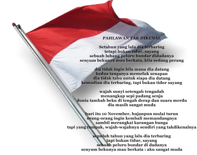 Contoh Puisi Kemerdekaan Indonesia Tema Pahlawan