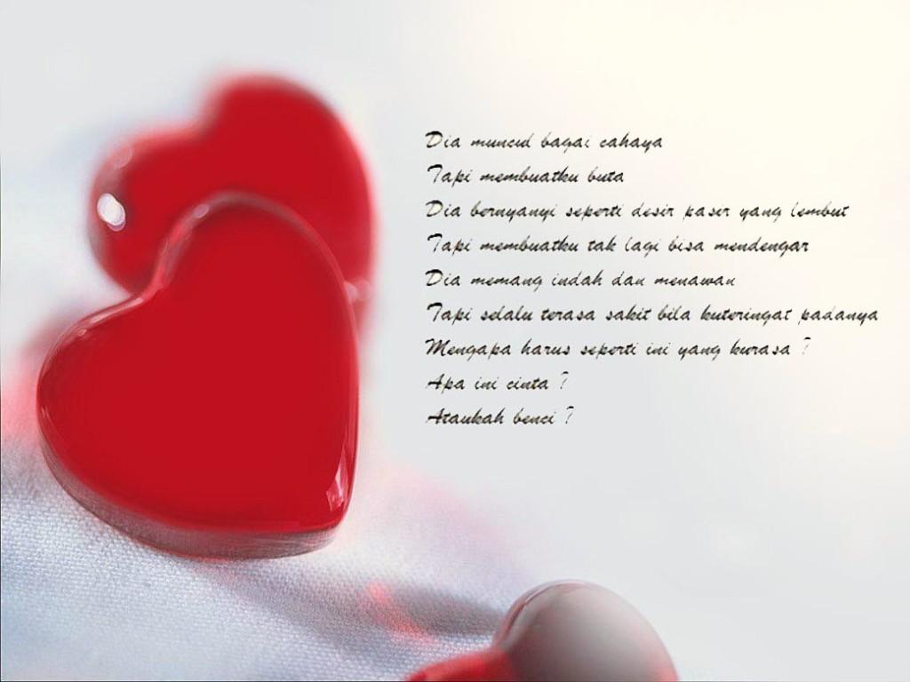 Contoh Puisi Perjuangan Untuk Cinta